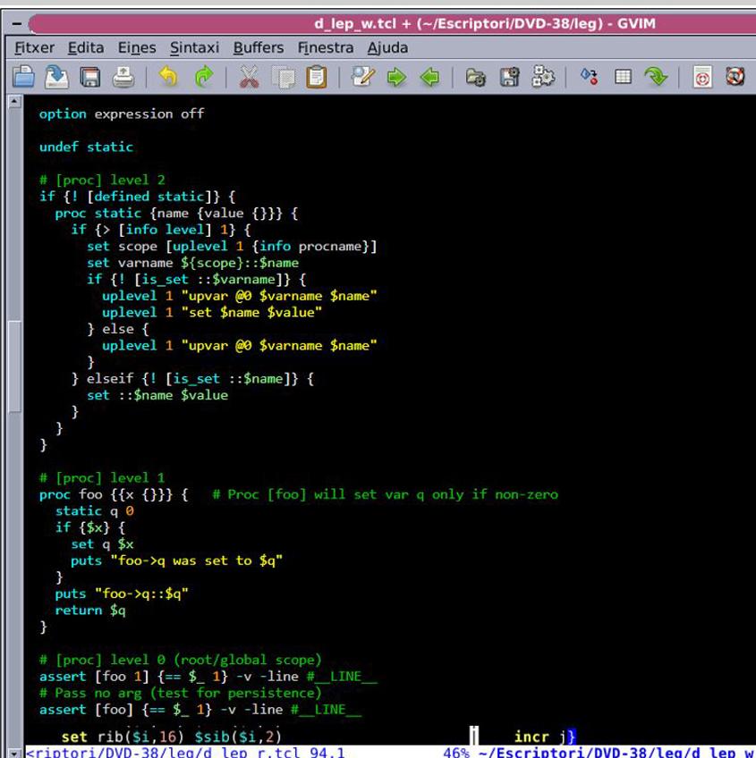 TCL Scripting